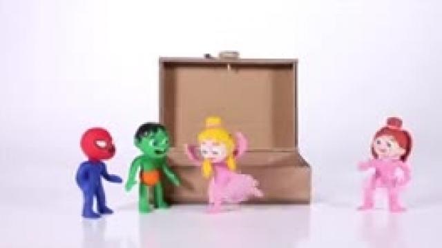 دانلود انیمیشن خانواده خمیری  این قسمت Kids Building A Music Box