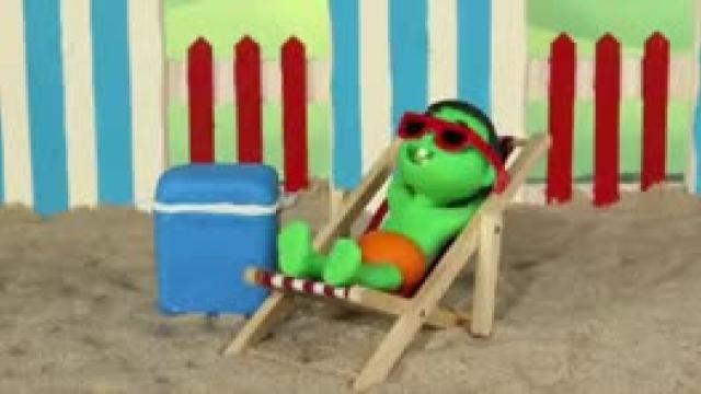دانلود انیمیشن خانواده خمیری این قسمت Amazon Box Was Found At The Beach