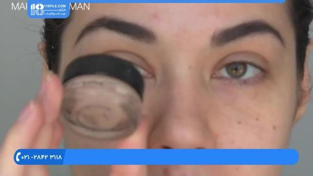 آموزش خودآرایی - آرایش چشم گربه ای