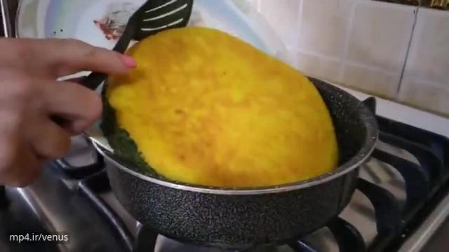 دستور تهیه ساده کوکو دو رنگ