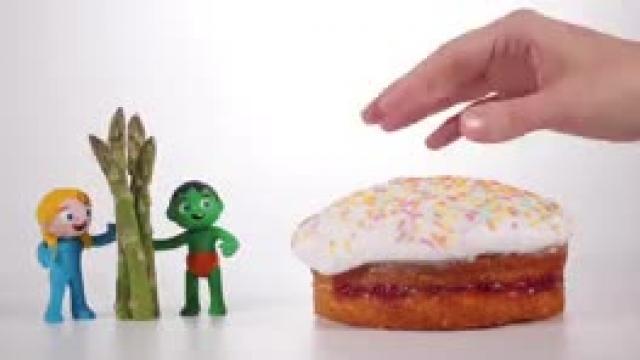 دانلود انیمیشن  خانواده خمیری این قسمتKids Trying Broccoli Ice Cream s