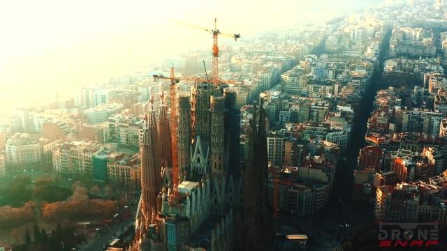 نماهای زیبا از شهر بارسلون
