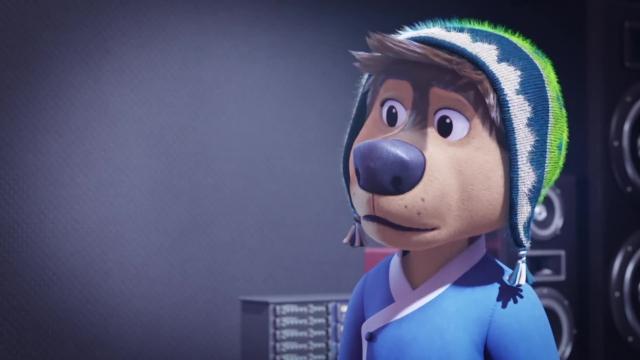 دانلود انیمیشن سگ راک 2 با زیرنویس فارسی Rock Dog 2 2021
