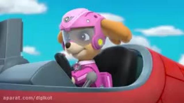 دانلود کارتون سگ های نگهبان این قسمت نجات هواپیما