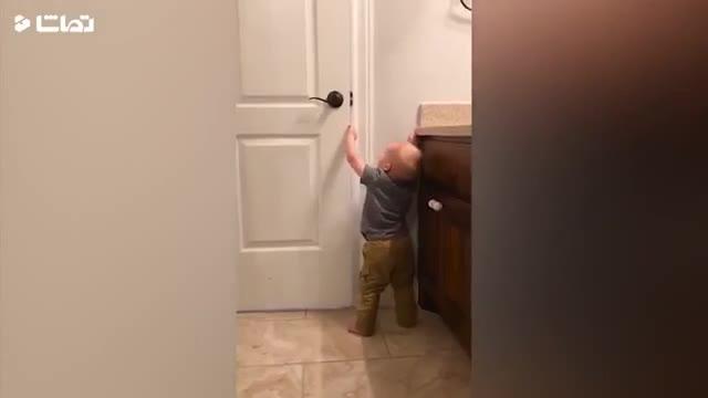 کلیپ بازمه و خنده دار اولین قدم های کودکان !