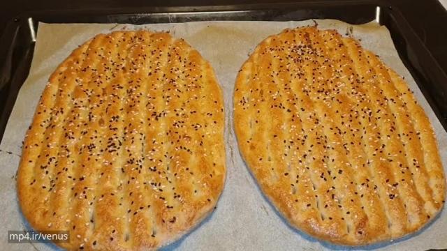 روش تهیه سالم نان بربری با جوپرک