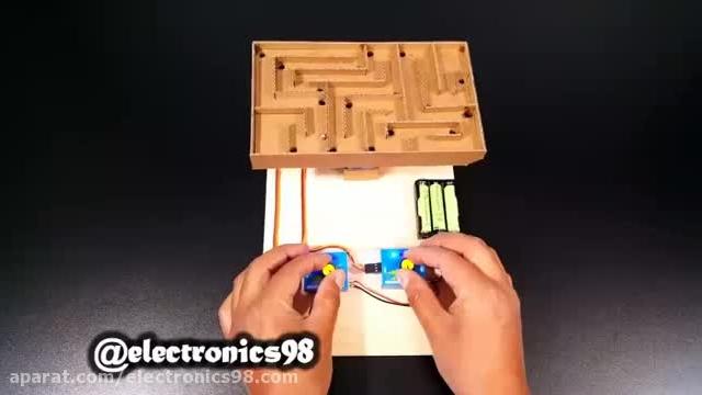 آموزش نحوه ساخت و راه اندازی بازی لابرینت