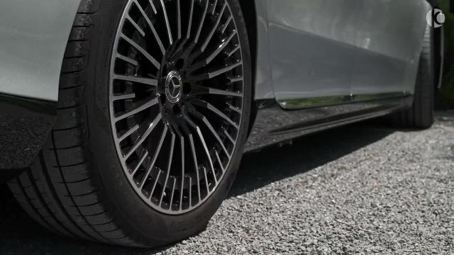 معرفی مرسدس 2022 Mercedes EQS 580