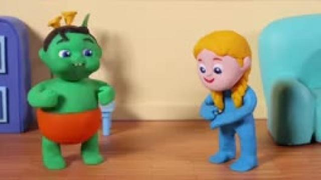 دانلود انیمیشن خانواده خمیری این قسمت e Little Boy Has Hiccs