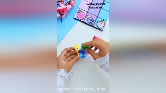 اموزش ساخت یه کاردستی جذاب مخصوص بازی کودکان