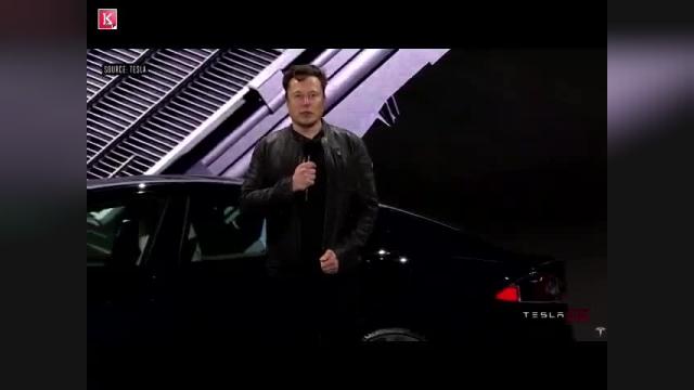 خلاصه مراسم خودروی Tesla Model S Plaid با حضور ایلان ماسک