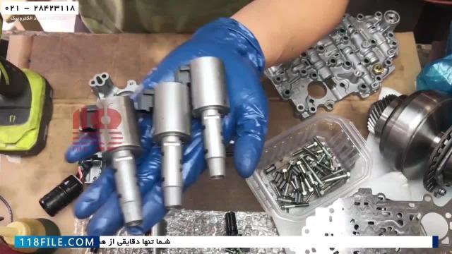 آموزش تعمیر گیربکس CVT-آموزش تعمیر گیربکس خودرو ایرانی (نیسان ورسا قسمت اول)