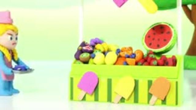 دانلود انیمیشن خانواده خمیری این قسمت Kids New Ice Cream Parlor