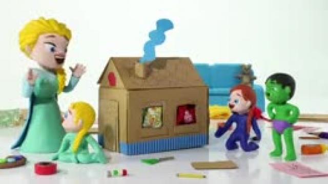 دانلود انیمیشن خانواده خمیری این قسمت Ladybug Loves Cooking