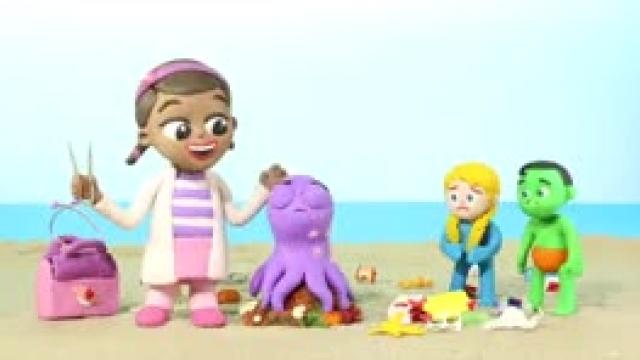 دانلود انیمیشن خانواده خمیری این قسمت  Good Octupus VS Bad Octopusپ