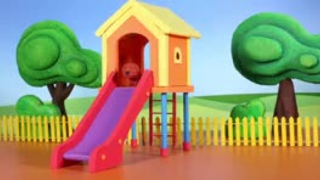 دانلود انیمیشن خانواده خمیری این قسمت  Kids Building A House With Candies