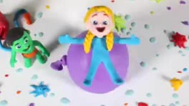 دانلود انیمیشن انواده خمیری این قسمت Kids Playing With A Giant Water Balloon
