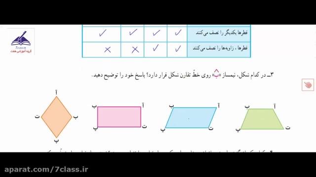 آموزش ریاضی پنجم دبستان ، تمرین صفحه 83 !