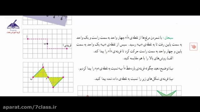 آموزش ریاضی ششم کامل ، فعالیت صفحه 67 و 66 !