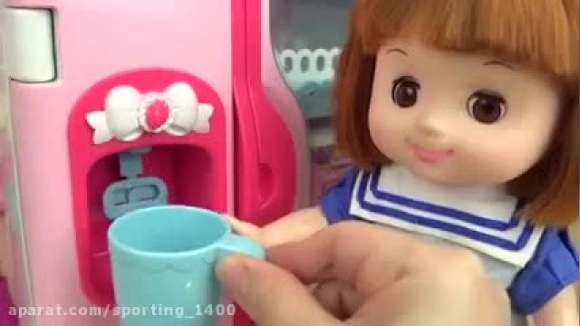 دانلود کارتون دخترانه آشپزی عروسک کوچولو این قسمت  رنگ کردن رشته