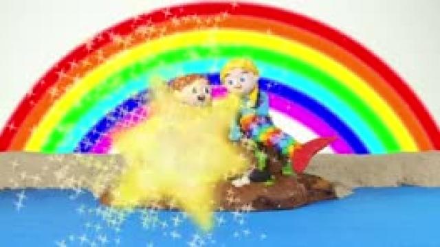 دانلود انیمیشن خانواده خمیری این قسمت Girls Wearing A Rainbow Mermaid Tais