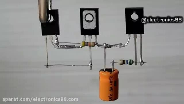 آموزش ساخت مدار آمپلی فایر صوتی ساده و کاربردی