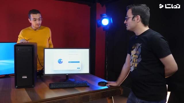 اسمبل سیستم و نصب ویندوز 11 روی اون !
