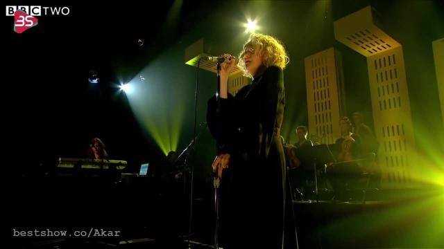 کلیپ دیدنی از اجرای فوق العاده Goldfrapp - Annabel