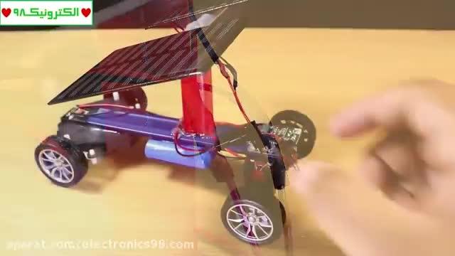 آموزش ساخت ماشین کنترلی ساده و جذاب !