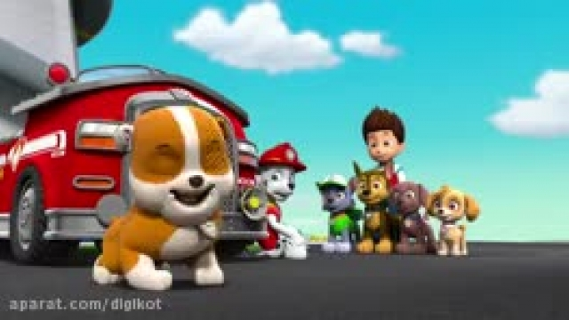 دانلود کارتون سگ های نگهبان این قسمت امداد چهار پنجه ای