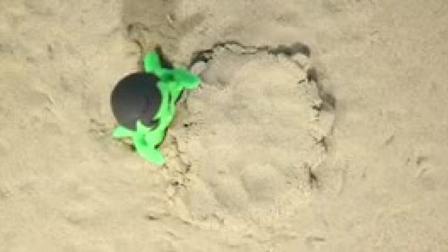 دانلود انیمیشن خانواده خمیری این قسمت  Kids Playing With Sand