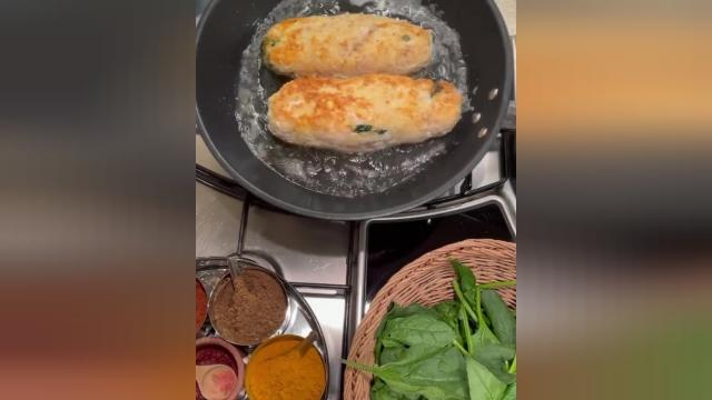طرز پخت رولت اسفناج غذایی سالم و رژیمی